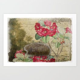 The Hedgehog Art Print