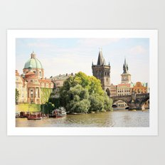 Beautiful Prague Art Print