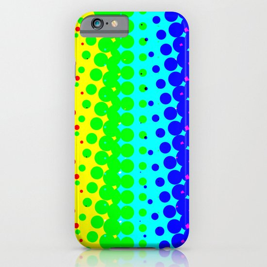 RAINBOW COLOR DOT iPhone & iPod Case