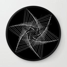 Chaos Star Wall Clock