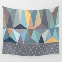 nordic Wall Tapestries featuring Nordic Combination 31 by Mareike Böhmer