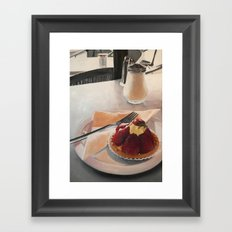 The Tart Framed Art Print
