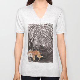 I am a Fox Unisex V-Neck