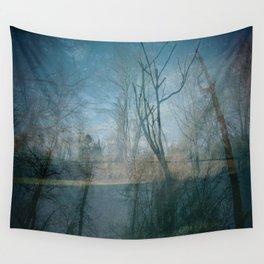 backyard Wall Tapestry