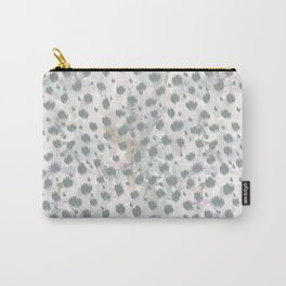 Cheetah skin ikat with watercolor texture pattern Carry-All Pouch