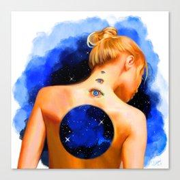Divine Feminine 2 ( Introspection Has No End ) Canvas Print