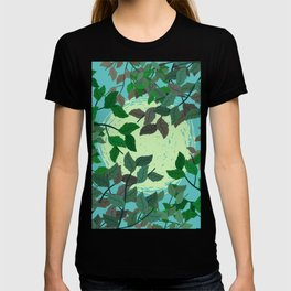 Looking Up Into The Leaves T-shirt
