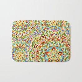 Rainbow Candy Trinkets Bath Mat