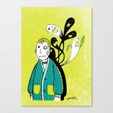 Everybody Has a Ghost or Two Canvas Print