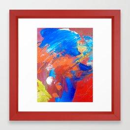 mess Framed Art Print