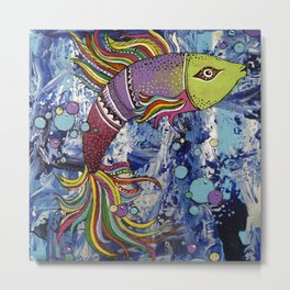 Colorful fish 2 Metal Print
