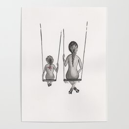 Mother&Daughter 3a Swings Poster