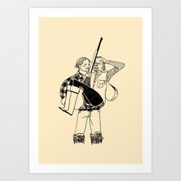 Hannibal Lumberjack Art Print
