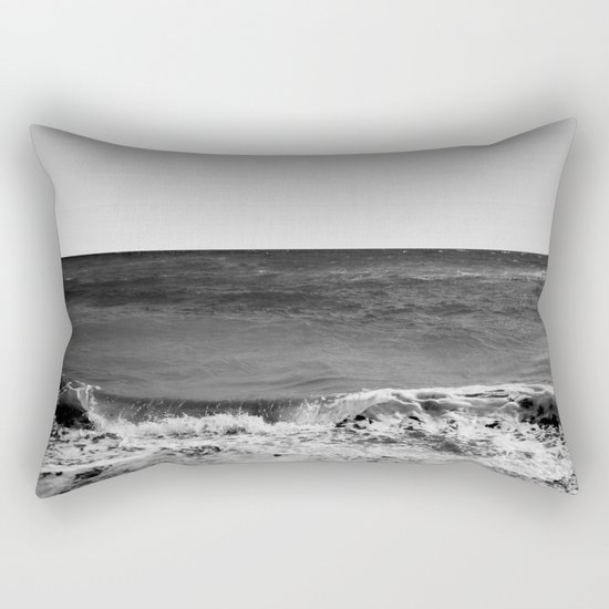 BEACH DAYS XVI BW Rectangular Pillow
