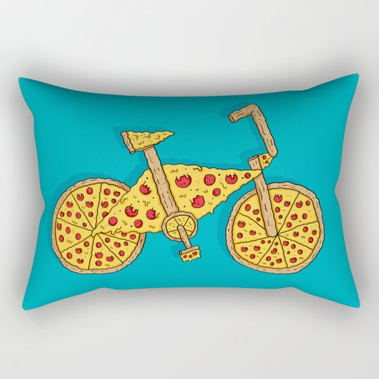 Pizzacycle Rectangular Pillow