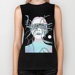 I See My Dreams and Memories Collide Biker Tank