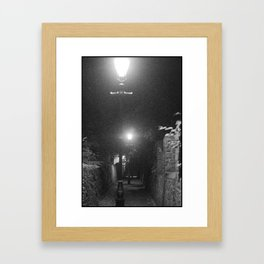 Midnight Expeditions 2 The Alley Framed Art Print