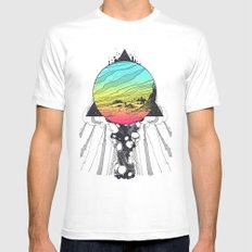 Filtering Reality LARGE Mens Fitted Tee White