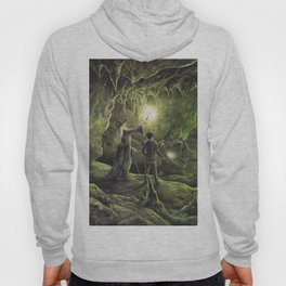 Harry and Dumbledore in the Horcrux Cave Hoody