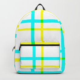Summer Plaid Backpack