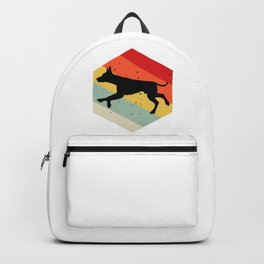 Small English Terrier print For Dog Lovers Cute Dog Backpack