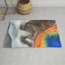 tie dye - the Earth: geyser Rug
