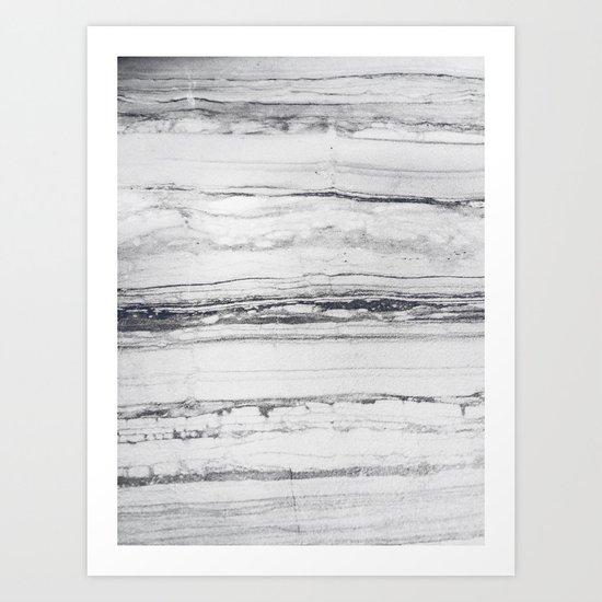 Rare marble Art Print