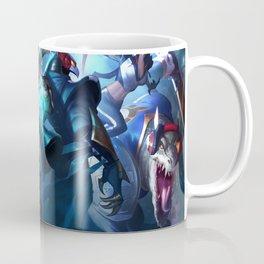 SKT T1 Ryze Alistar Renekton Elise Kalista Splash Art League of Legends Artwork Wallpaper lol Coffee Mug