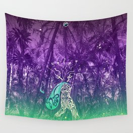 Yes, you can go wild now Wall Tapestry
