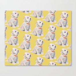 Cockapoo Pups Canvas Print