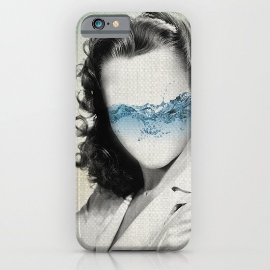 the glass half full iPhone & iPod Case