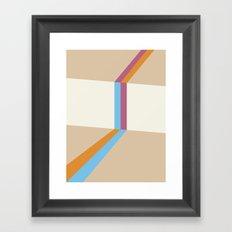 Poligonal 177 Framed Art Print