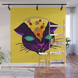 Delicious Cat Wall Mural