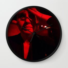 Red Marie Wall Clock