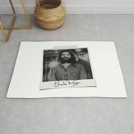 Manson Charles Signature Prison Rug