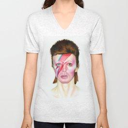 Ziggy Stardust Unisex V-Neck