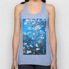 Vincent Van Gogh - Almond Blossom Unisex Tank Top