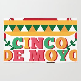 Cinco De Mayo 2018 Celebration Party Rug