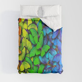 Colorful Butterflies Comforters