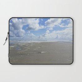Cloudy seascape panorama Laptop Sleeve