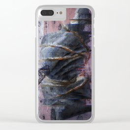 Restrained by time Clear iPhone Case