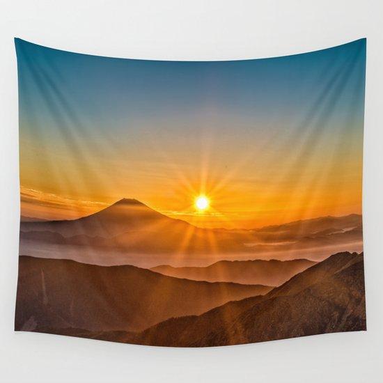 Mt Fuji II Wall Tapestry