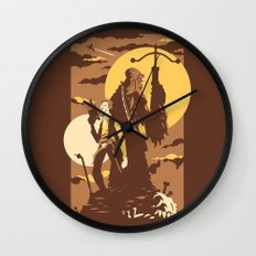 The Scoundrel & The Wookie Wall Clock