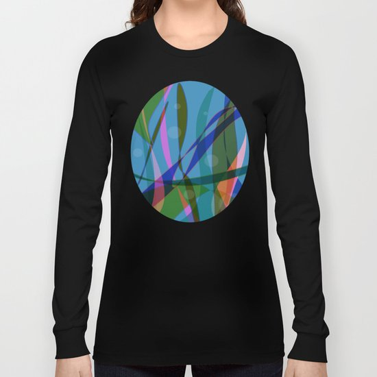 Abstract #355 Long Sleeve T-shirt
