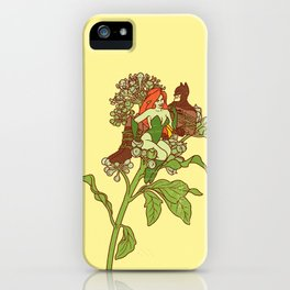 Toxicodendron radicans iPhone Case