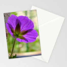 'Mayflower' Geranium Stationery Cards