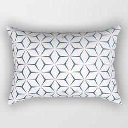 Cubic Pattern Rectangular Pillow