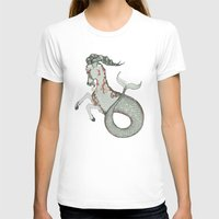capricorn T-shirts featuring Capricorn by Vibeke Koehler