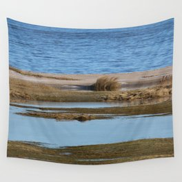 At the beach 5 Wall Tapestry