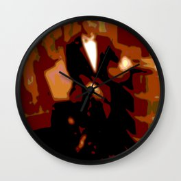 Cotton Club Wall Clock
